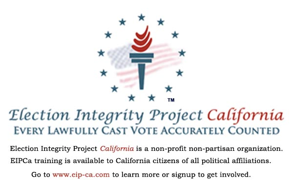Election Integrity Project California