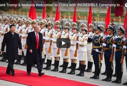 Trump Visits China