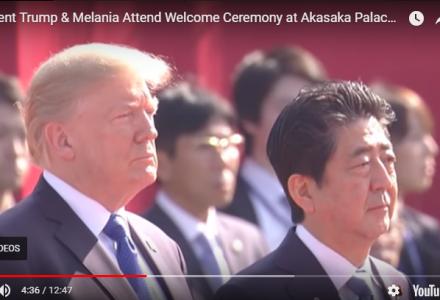 Trump Visits Japan